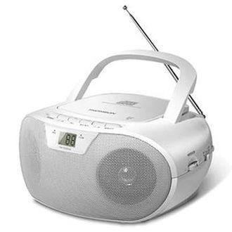 THOMSON 手提式CD音響 TM-TCDC06 ◆可播放CD/收音機功能 ◆具有耳機插孔