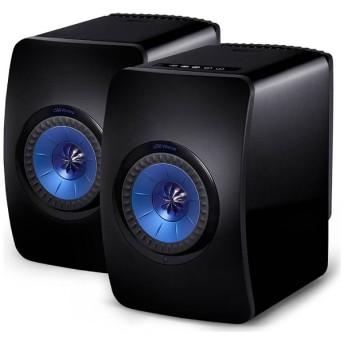 LS50WIRELESS B WiFiスピーカー ブラック [ハイレゾ対応 /Bluetooth対応 /Wi-Fi対応]