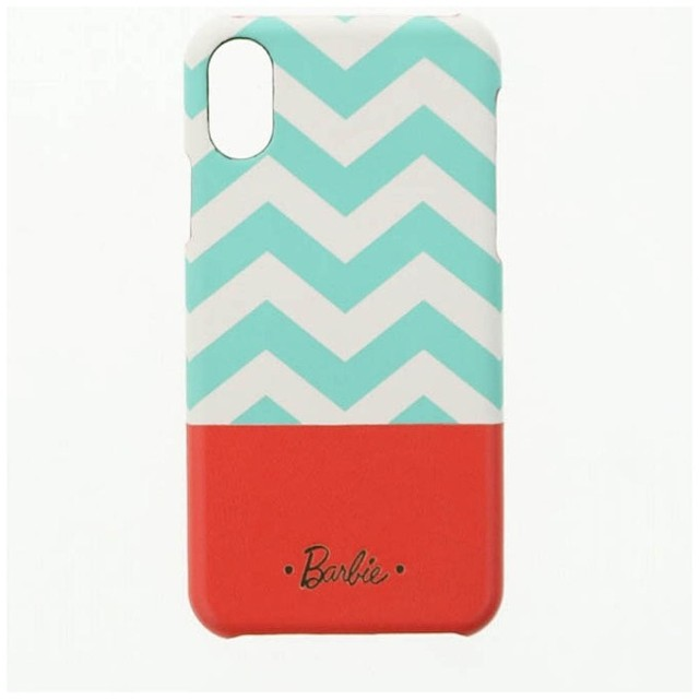 7aa154df18 iPhone X用 Barbie Design PUレザーケース ミント LEPLUS LP-BI8LSMT ...