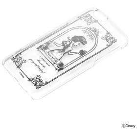 iPhone 6用 ハードケース クリア 銀箔押し ディズニー・白雪姫 PG-DCS899WH