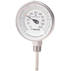 バイメタル温度計BMーS型 BMS90S4