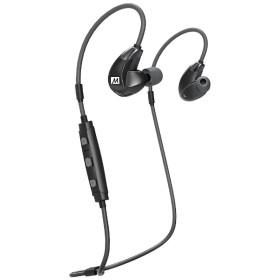 bluetooth イヤホン カナル型 EPX7PLUSBK ブラック [リモコン・マイク対応 /ワイヤレス(左右コード) /Bluetooth]