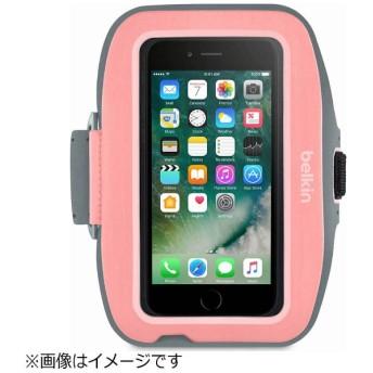 iPhone 7用 Sport-Fit Plusアームバンド ピンク F8W796btC01