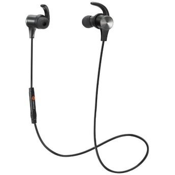 bluetooth イヤホン カナル型 TaoTronics ブラック TTBH-07 [リモコン・マイク対応 /ワイヤレス(左右コード) /Bluetooth]