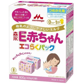 森永E赤ちゃんエコらくパック 替え 1箱〔ミルク〕