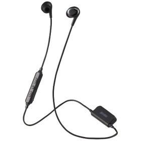 bluetooth イヤホン カナル型 ブラック MXH-BTC400 [リモコン・マイク対応 /ワイヤレス(左右コード) /Bluetooth]