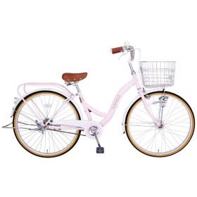 26型 自転車 マハロ26HD(ピンク/シングルシフト)