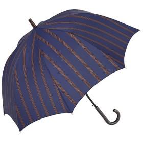 【傘】メンズ長傘 スマートストライプJP SS-1L65-UJ(超撥水加工) 65cm【色指定不可】