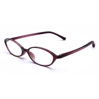 TR-90 PC老眼鏡(ワイン/+3.00)