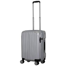 TSAロック搭載スーツケース(35-40L) TRI2035-49 シルバー