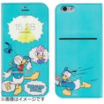iPhone 6s/6用 手帳型 ディズニー フリップ窓付きダイアリーケース ドナルド