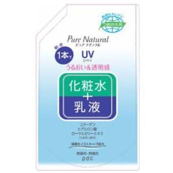 Pure NATURAL(ピュアナチュラル) エッセンスローションUV 大容量(490ml) つめかえ用[オールインワン]