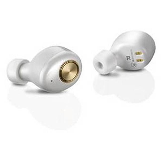 フルワイヤレスイヤホン MS-TW1 SERIES ホワイト MS-TW1WH [リモコン・マイク対応 /ワイヤレス(左右分離) /Bluetooth]