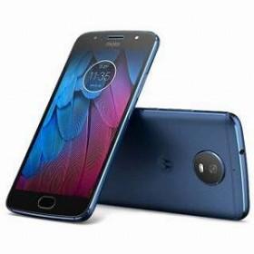 モトローラ Moto G5s オックスフォードブルー 「PA7Y0046JP」 Android 7.1.1・5.2型・メモリ/ストレージ:3GB/32GB nanoSIM×2 SIMフリースマートフォン