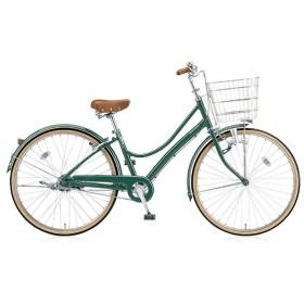 27型 自転車 エブリッジL(E.Xフィールドグリーン/シングル) EB70L【2017年モデル】