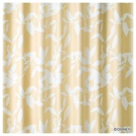 ドレープカーテン ミッキー/ブロードリーフ(100×135cm/ベージュ)【日本製】