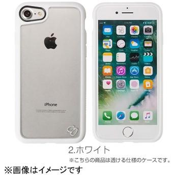 iPhone 7用 humor 耐衝撃ハイブリッドケース ホワイト