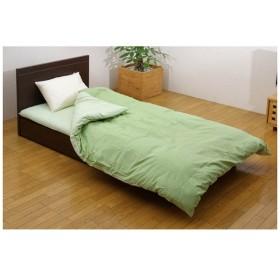 【掛ふとんカバー】森の眠り ダブルサイズ(190×210cm/グリーン)