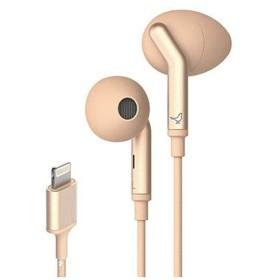 イヤホン カナル型 Q ADAPT LIGHTNING IN-EAR Elegant Nude LI0030000AS6008 [リモコン・マイク対応 /ライトニング端子 /ノイズキャンセリング対応]