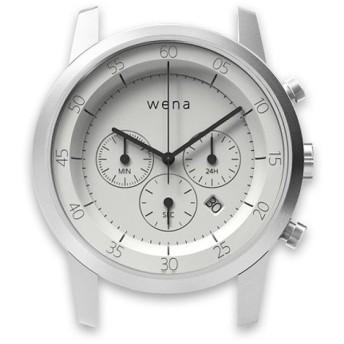 ハイブリッドスマートウォッチ wena wrist Chronograph White Head WN-WC01W-H スタンダードモデル