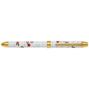 [多機能ペン] 2+1 雅絵巻 椿 (インキ色:黒・赤+シャープ0.5mm) BTHM-5SR-TBKW