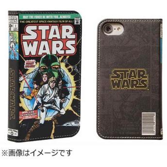 iPhone 7用 手帳型 STAR WARS コミックブックダイアリーケース ルーク・スカイウォーカー