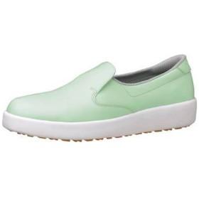 ミドリ安全 ハイグリップ作業靴H-700N 26.5cm グリーン <SKT4349>