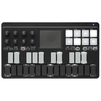ベロシティ対応25鍵モバイルMIDIキーボード(ブラック) nanoKEY Studio BK