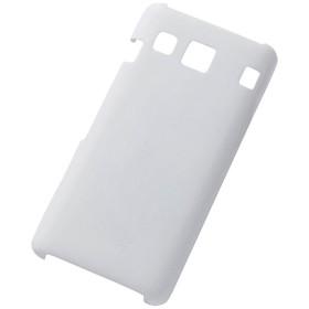 DIGNO rafre KYV36用 マットハードケース パールホワイト RT-GN36VC4/W