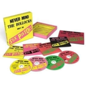 Sex Pistols/Never Mind The Bollocks - 40th Anniversary Deluxe Edition: (+dvd)(Ltd)(Dled)