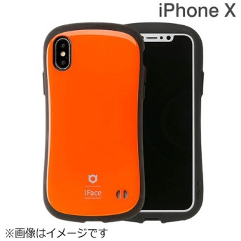 iPhone X用 iFace First Classケース オレンジ IP8IFACEFCOR