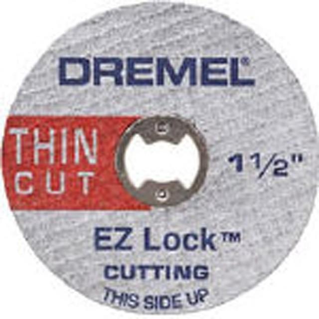 EZ-Lockファイバーグラス補強カットオフホイール EZ409 (1箱5個)