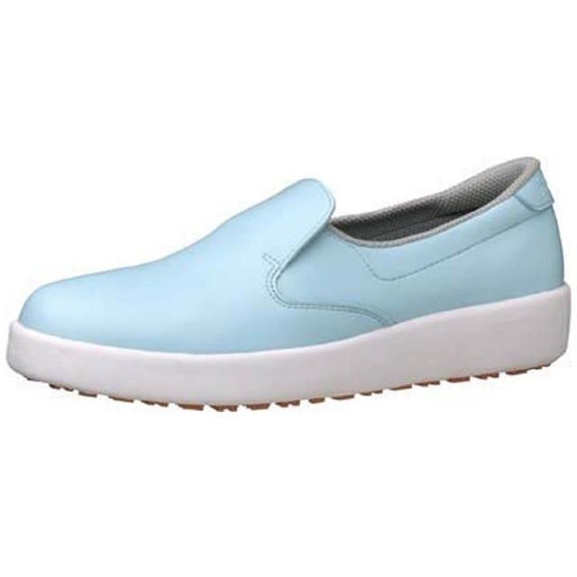 ミドリ安全 ハイグリップ作業靴H-700N 24.5cm ブルー <SKT4328>