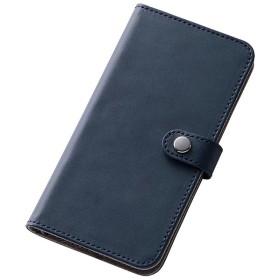iPhone 6s/6用 手帳型 シンプルブック合皮レザーケース ダークネイビー RT-P9LBC6/DN