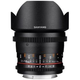 カメラレンズ CINE 10mm T3.1 VDSLR ED AS NCS CSII【キヤノンEFマウント(APS-C用)】
