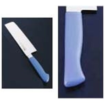 抗菌カラー庖丁 菜切 18cm MNK-180 マリンブルー <AKL10184H>