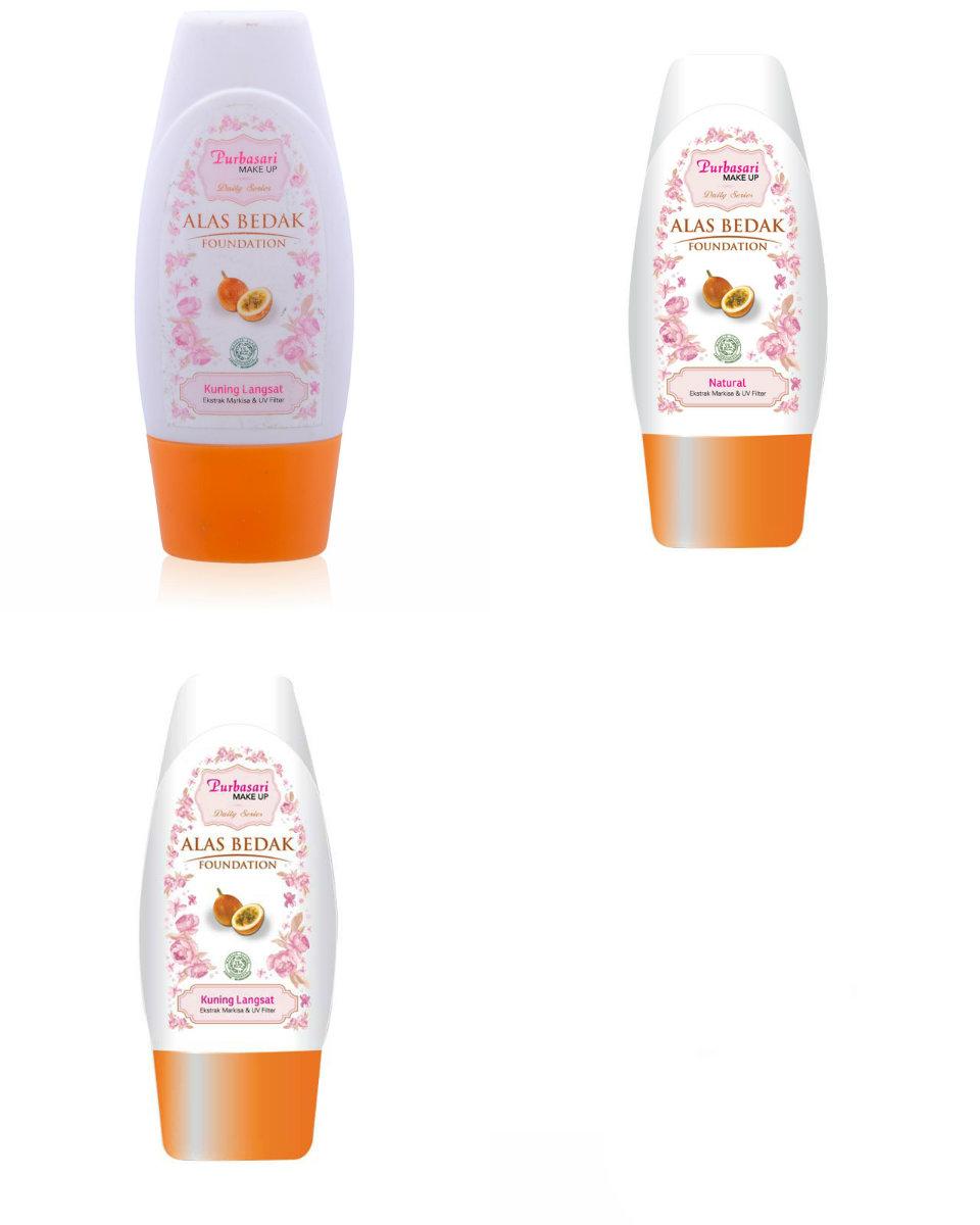 Sinar Kosmetik Shop Line Pensil Alis Viva Original Purbasari Daily Series Alas Bedak All Shades Foundation