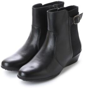 ハーブ herb 本革 ショートブーツ (ブラック)