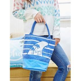 【kahiko】マイカイトートバッグ / バケツバッグ ブルー