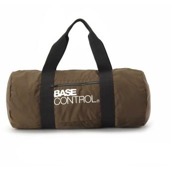 BASECONTROL ベースコントロール BCロゴ ドラムバッグ メンズ