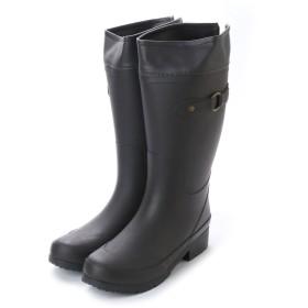 エニーウォーク Anywalk ラバーロングレインブーツ ライニング保温ウレタン裏地 雨 秋冬 ・ブラウンaw_16032 (BROWN) (BROWN)