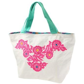 CAYHANE チャイハネ メキシカン刺繍ミニトートバッグ