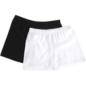 綿混紡素材シンプルインナーパンツ・全2色・d17601