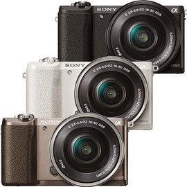 SONY A5100L ILCE-5100L 單鏡組(公司貨) 觸控對焦 A5100 相機 ★限量贈電池(共兩顆)+復古皮套+16G高速卡+座充+保護貼+吹球組