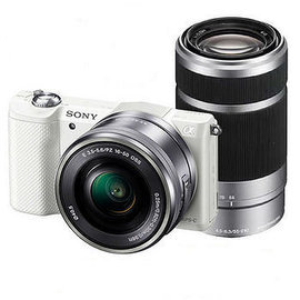 SONY A5100Y ILCE-5100Y 雙鏡組(公司貨) 類單眼相機 觸控對焦 A5100 ★贈電池(共2顆)+座充+16G高速卡+保護貼+吹球組大全配