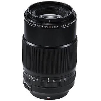 富士フイルム FUJIFILM 一眼レフ用交換レンズ XF80mmF2.8 R LM OIS WR Macro【FUJIFILM Xマウント】