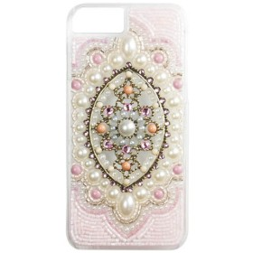 iPhone 8用 ORNAMENT ETHNIC ピンク ORNAMENTPINKIP78