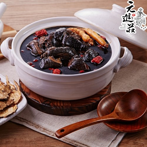 《元進莊》養顏七珍仙草雞(1200g/份)