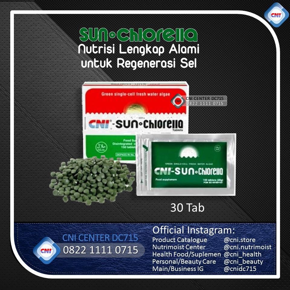 Cni Sun Chlorella 30tab Daftar Update Harga Terbaru Indonesia Tablets Asli Dan Jual Rp 55 000 Source 30 Tab Lokal