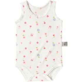 ミキハウス キャビットちゃん メッシュ素材のノースリーブボディシャツ ピンク